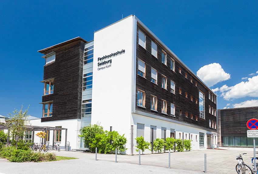 Holztechnikum Kuchl Altbau und Fachhochschule
